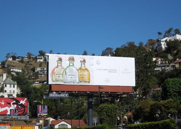 Patrón Tequila jigsaw puzzle billboard