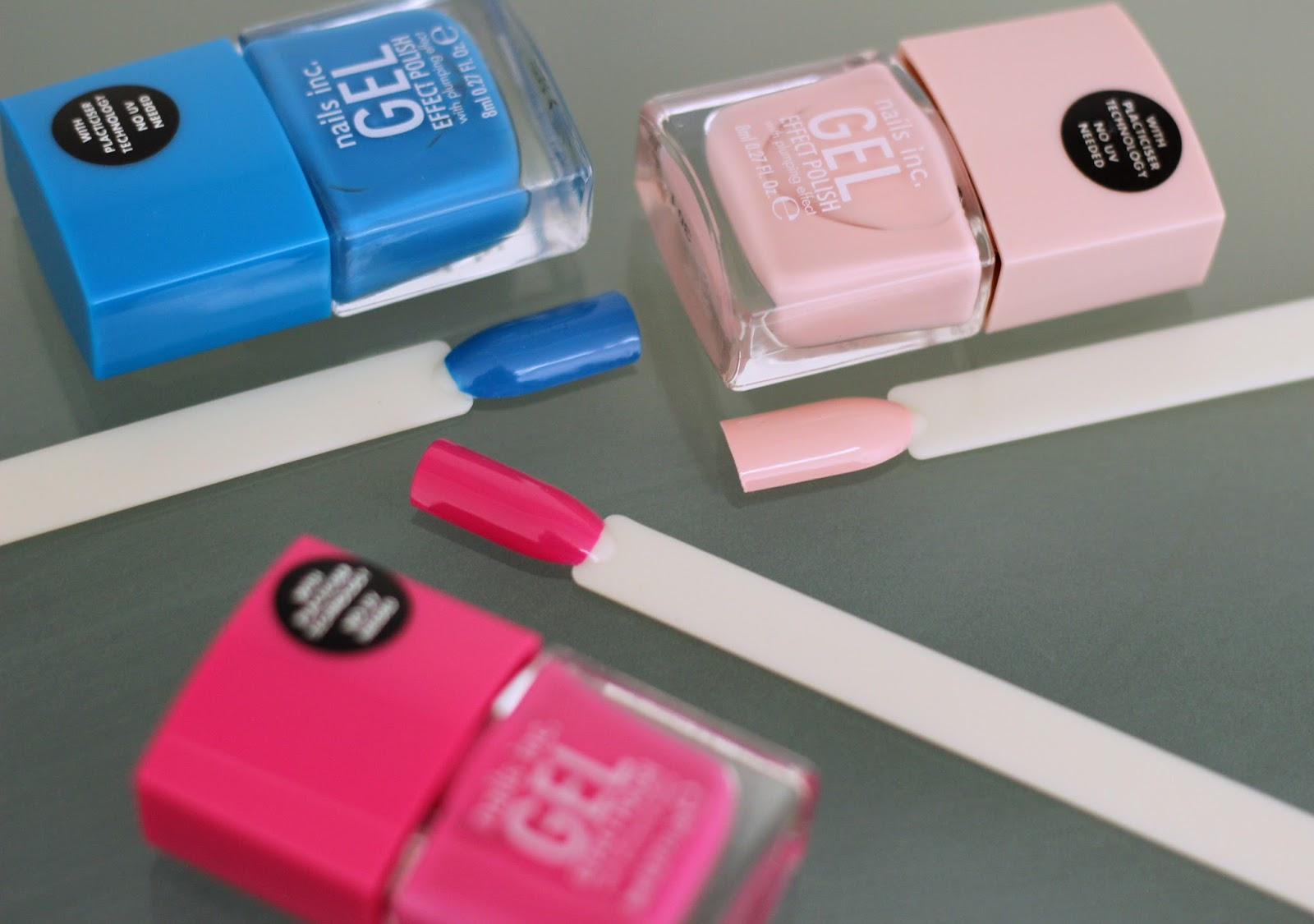 Nails Inc Gel Effect Polishes Review