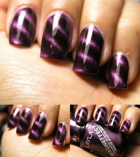 Chromatic Misadventures™: Layla Magneffect Purple Galaxy