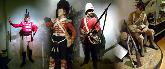 National Army Museum, London, Chelsea, soldiers, Britain at war
