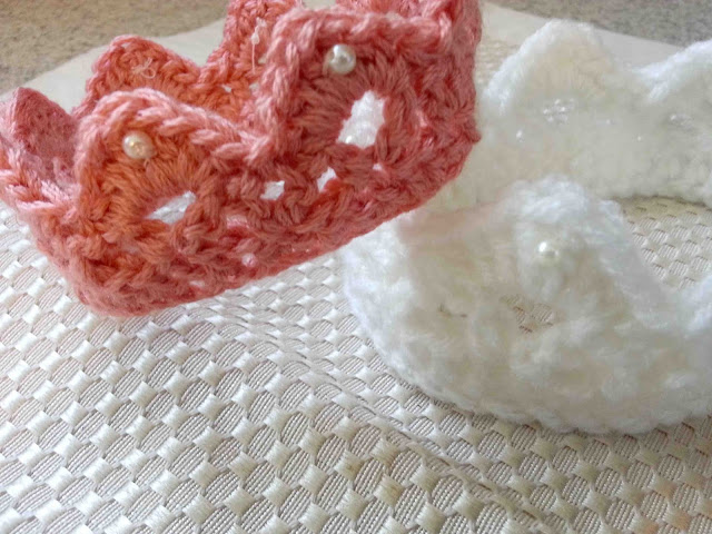 Free Crochet Pattern Baby Crown : Made by Me. Shared with you.: June 2013