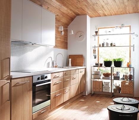 Decoraci n f cil muebles de cocina de ikea 2014 for Mueble kansas