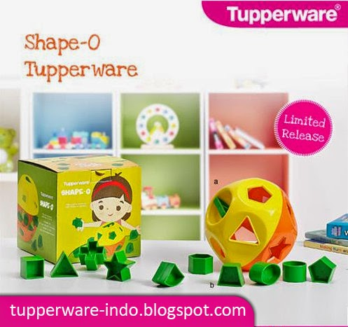 Tupperware Shape-O
