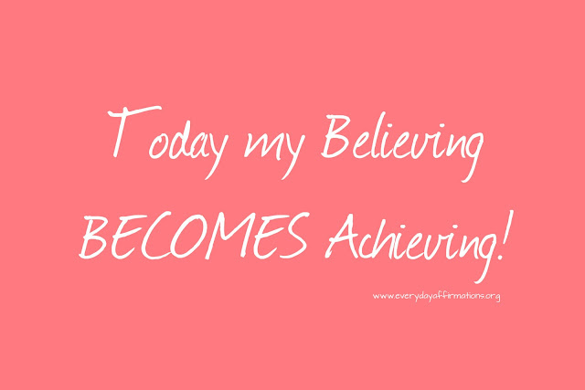 Daily Affirmations - 17 July 2013