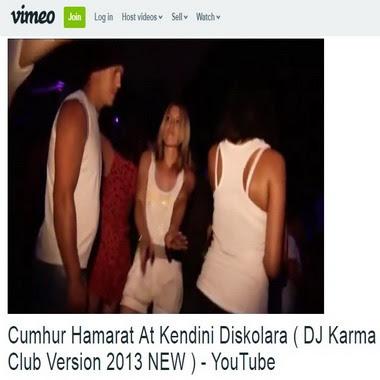 vimeo com - cumhur hamarat - at kendini diskolara