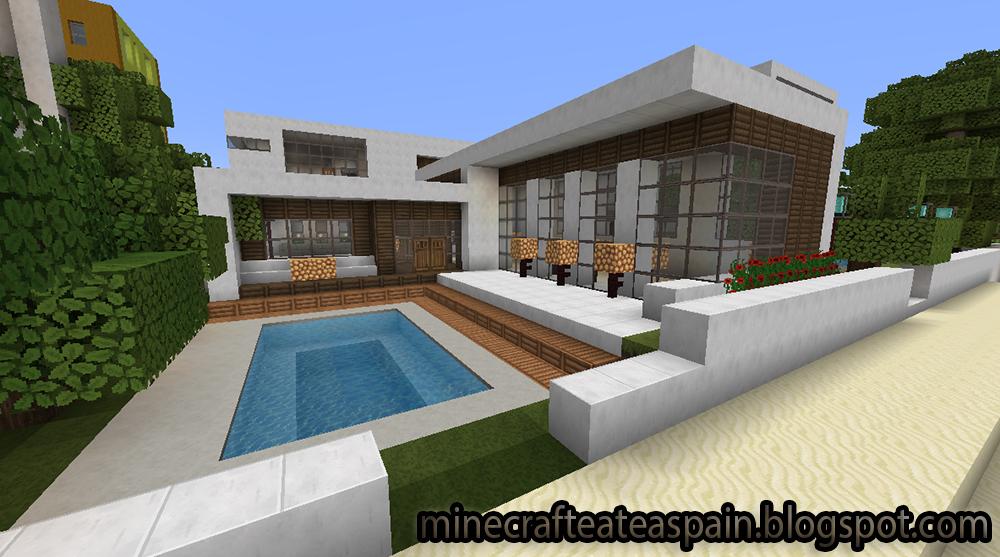 Minecrafteate casas modernas en minecraft for Casas modernas minecraft 0 10 0