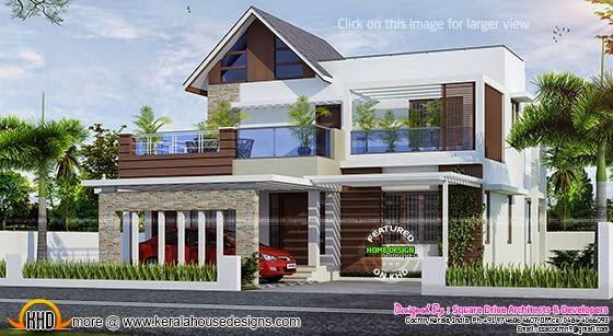 Kerala modern house