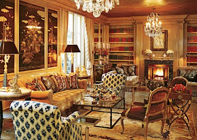 Dean Farris Style Library Looks Million Dollar Decorator