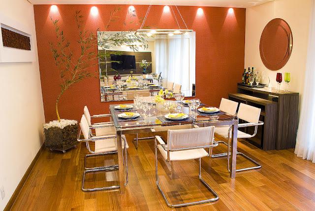 Como integrar una sala y comedor living sala de jantar for Como disenar una sala comedor