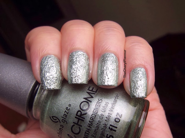 China Glaze Wrinkling The Sheet