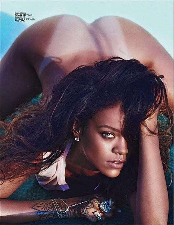 Rihanna Nua Em Sessão Fotográfica