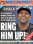 CC farewell takes page for Yankees