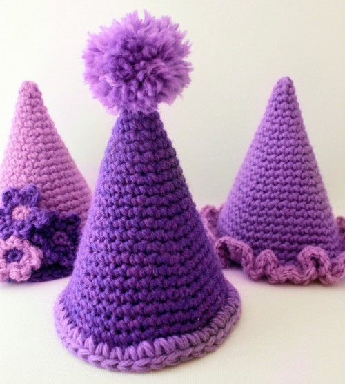 Party Hats - Free Pattern