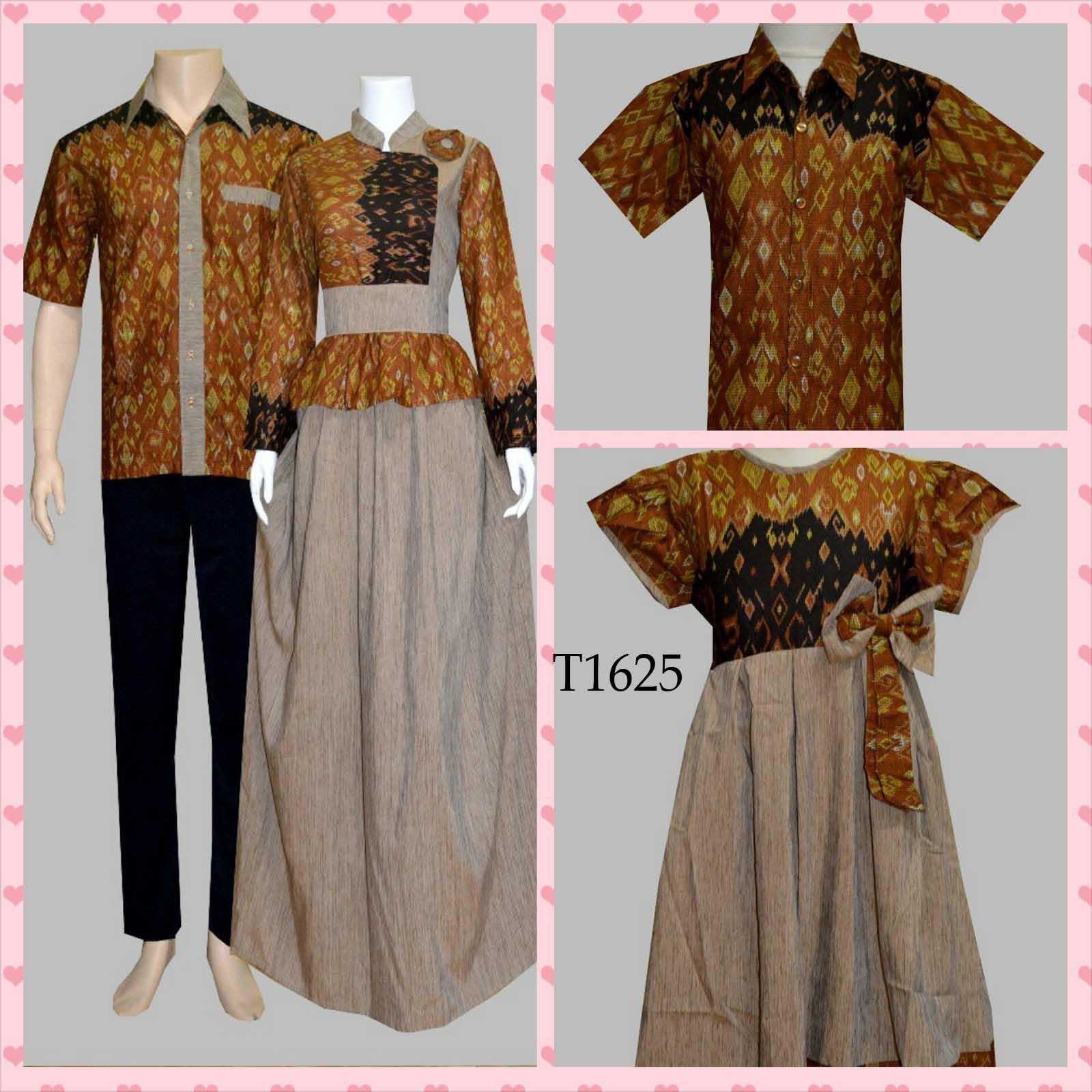 Model Baju Batik Keluarga Masa Kini