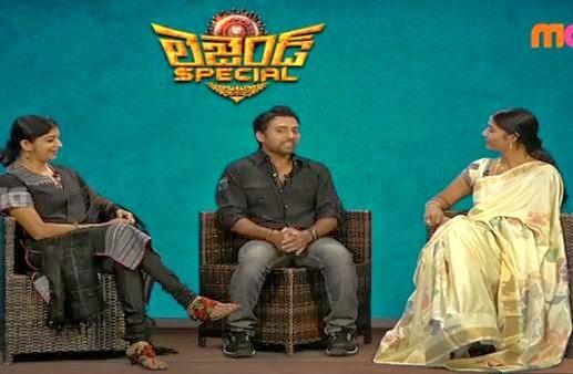 Legend Special Interview of Sitara and Eeswari Rao