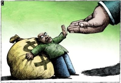 La tassa sui ricchi