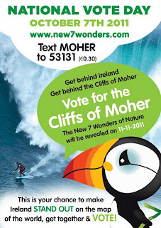 Vote for the Cliffs of Moher