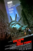The picture above is the movie poster for the film Escape from New York