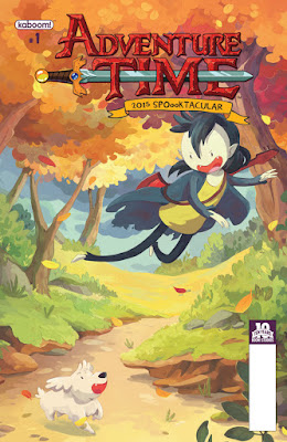 Cover of Adventure Time 2015 Spooktacular, courtesy of BOOM! Studios