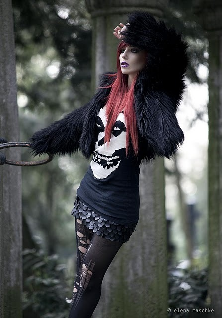 Alternative Fashion Outfit Saga 2 Black Bird