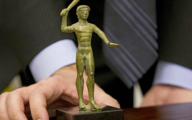 Etruscan bronze, Tiepolo painting returned to Italy