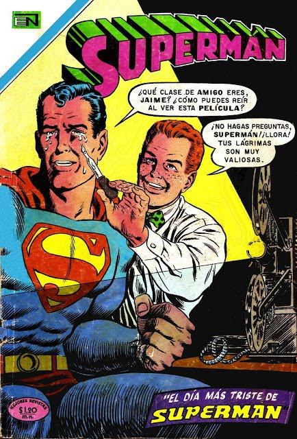 Supermán, Supercómic y Batman - Escaneos originales e inéditos de Arcano9