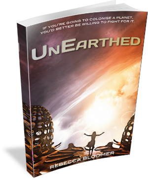 Book Cover: UnEarthed by Rebecca Bloomer