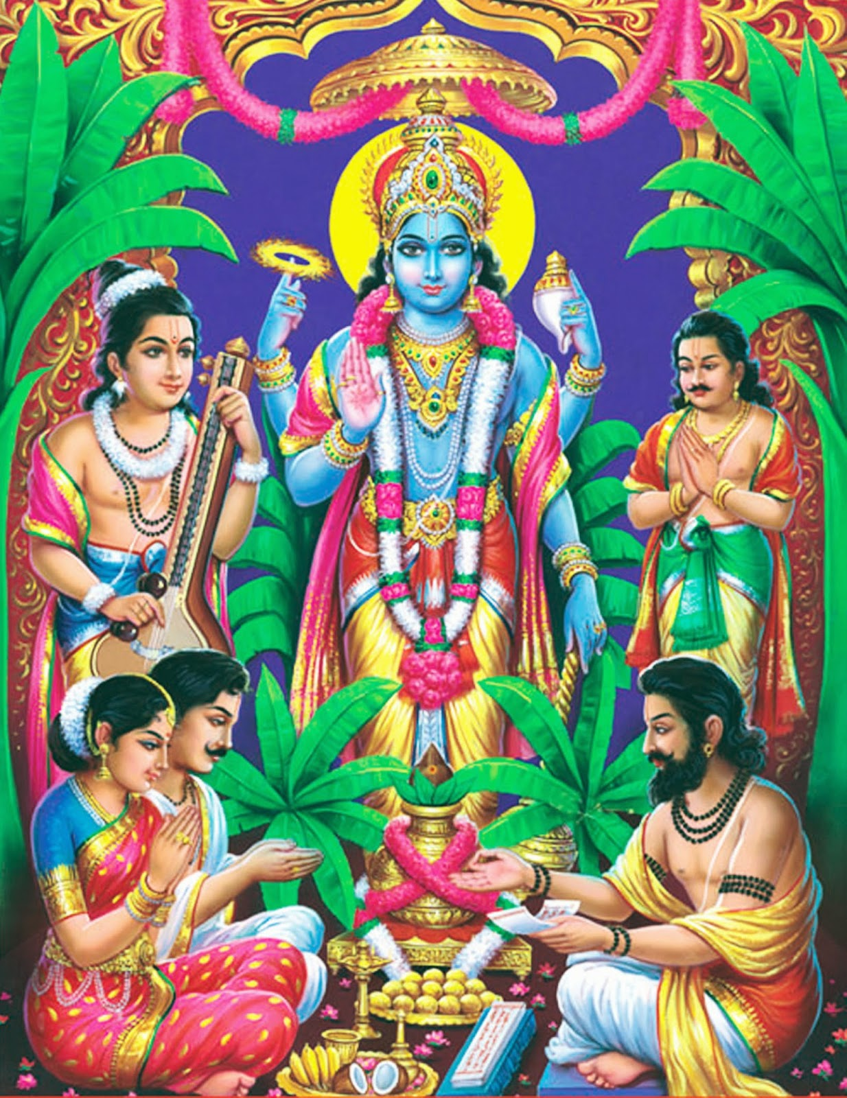 Satyanarayana Swamy Images Download Best Custom Invitation