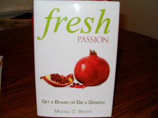 The book Fresh Passion - Get A Brand Or Die A Generic