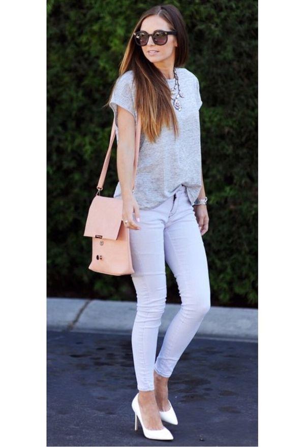 Zapatos de moda color blanco | Zapatos