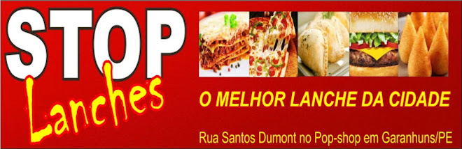Stop Lanches o Melhor Lanche da cidade
