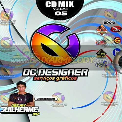 Cd ( Eletrodance) Dc Designer Serviços Graficos Vol.05 - Mixagens Dj Guilherme Mix