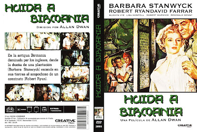 Cover, caratula, dvd: Huida a Birmania | 1955 | Escape to Burma