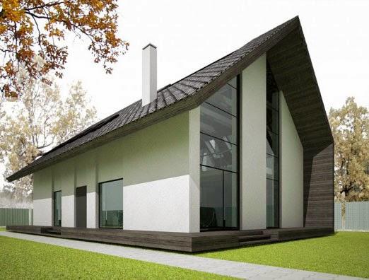 foto rumah sederhana yang bagus untuk satu keluarga