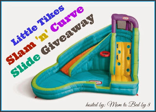 Enter the Little Tikes Slam 'n' Curve Slide Sweepstakes. Ends 6/30.
