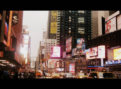 Times Square in New York, NY - Photo by Michelle Judd of Taste As You Go