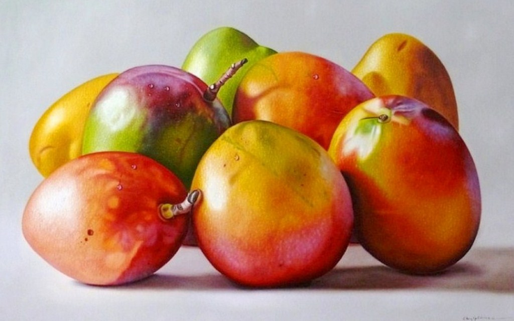 Pinturas cuadros lienzos cuadros de bodegones de frutas - Fotos de bodegones de frutas ...