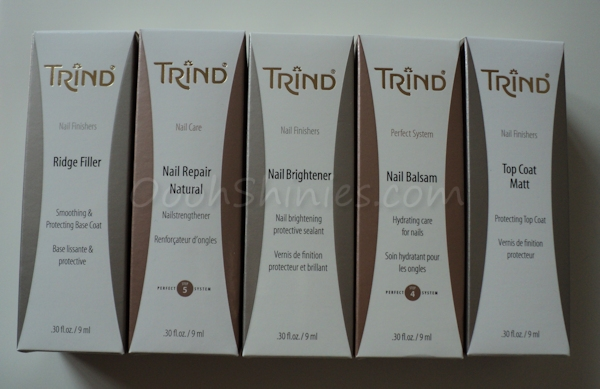 Oooh, Shinies!: Trind nail care products