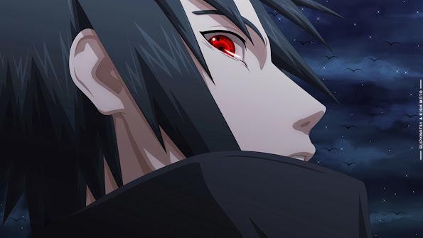uchiha sasuke sharingan eyes hd anime wallpaper 1600x900