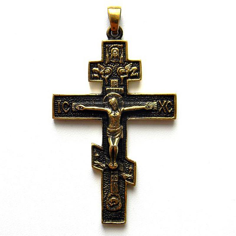 Православный крест (русский крест или крест святого Лазаря)