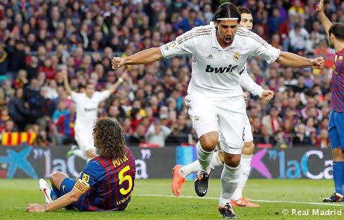 gol de Khedira al FC Barcelona