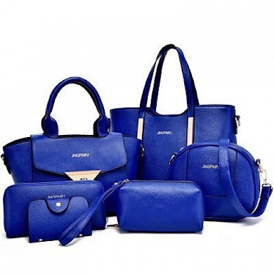 Multi Function Bag (6 in 1 Set ) – Blue