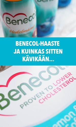 Yhteistyössä: Benecol
