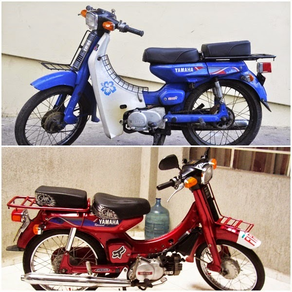 contoh modifikasi motor yamaha 80