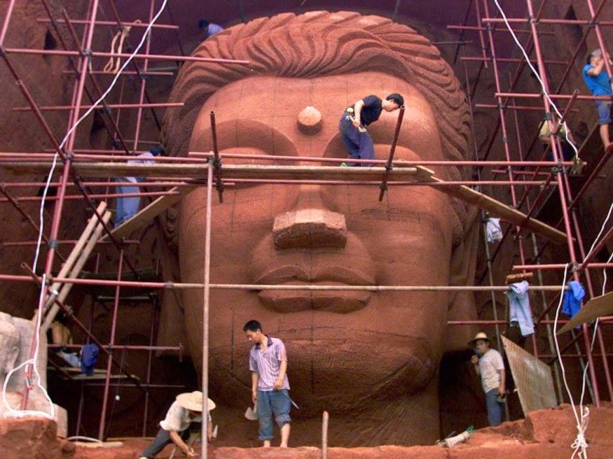 Replikas Patung Buddha Bamiyan