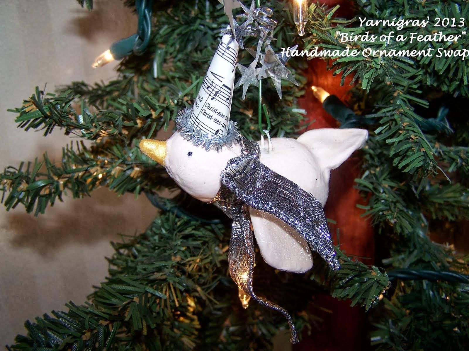 Annual Handmade Ornie Swap