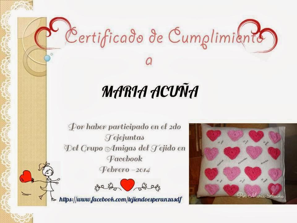 mi segundo certificado