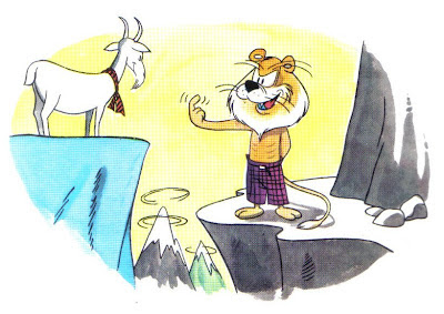 Fabula el León y la Cabra
