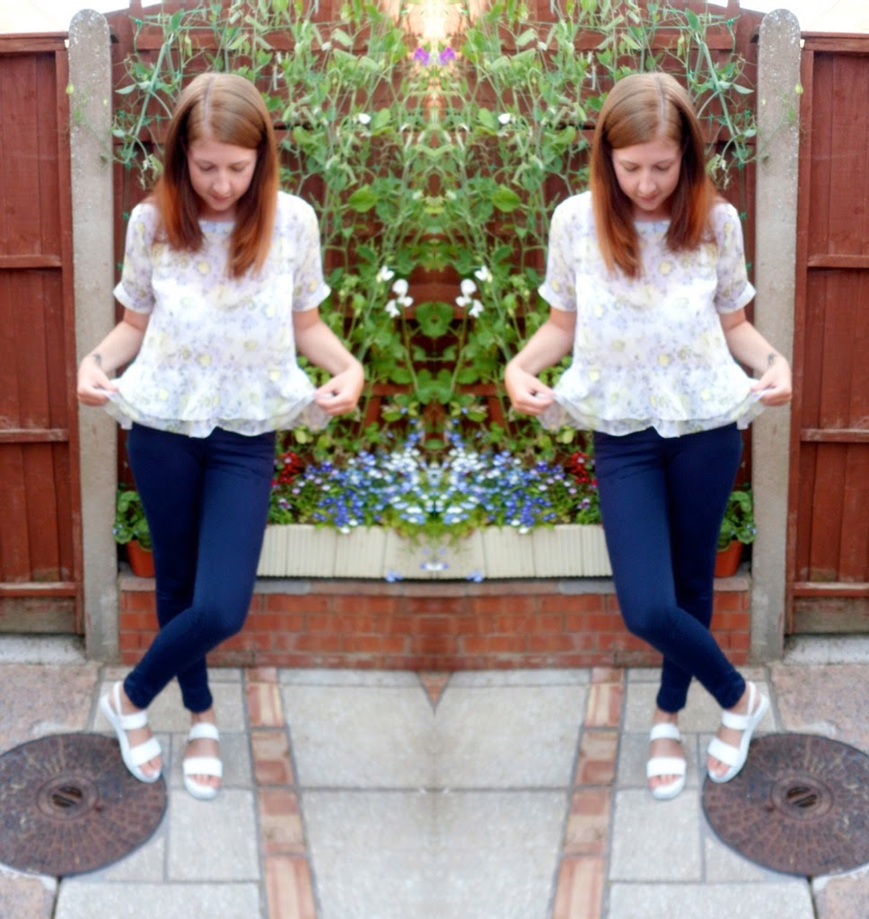 asos, topshop, floral, sandals, primark, fashion, fbloggers, ootd, wiw