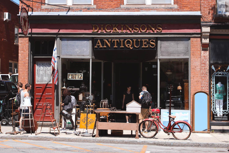 antique store upstate ny, upstate new york thrifting, upstate ny antique, ny fashion blog, fashion blog nyc, dickinsons antiques, antique store beacon ny